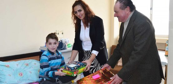 New year magic continued for children